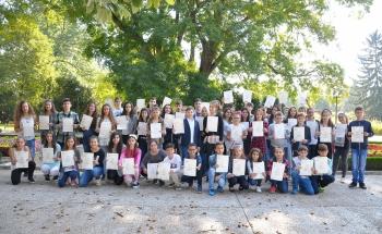 69 сертификата на Кеймбридж в Добрич!