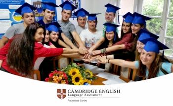 Тържествено връчване на сертификатите на Кеймбридж в Училища ЕВРОПА