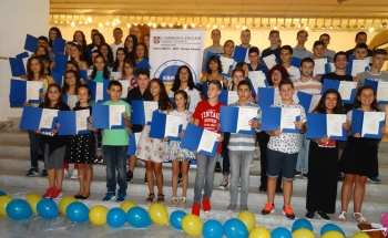 CONGRATULATIONS TO THE CAMBRIDGE CERTIFICATE HOLDERS IN PLEVEN