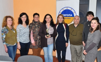 """Наградата """"Георги Христов"""" за 2017 г. е за Училища ЕВРОПА – Добрич!"""