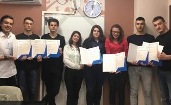 Пролетта настъпи с Cambridge Certificates в Русе