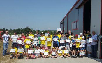 """Училища ЕВРОПА - Габрово подкрепи детски научно-технически лагер """"Млад техник, изследовател и изобретател"""""""