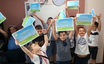 Весело лято от Училища ЕВРОПА - Русе!