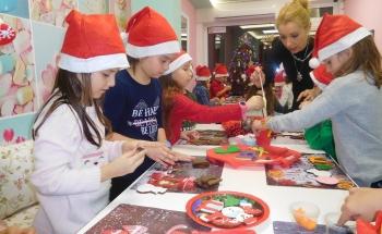 Коледно настроение в Училища ЕВРОПА - Ямбол