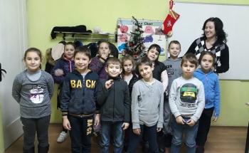 Коледа идва и в Училища ЕВРОПА - Видин