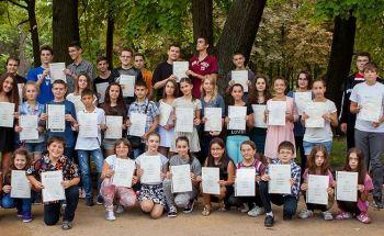 Тържествено връчване на сертификати на Кеймбридж в Училища ЕВРОПА - Шумен