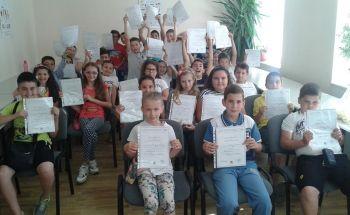 Учебната година в Училища ЕВРОПА - Ботевград завърши с Movies and Popcorn!